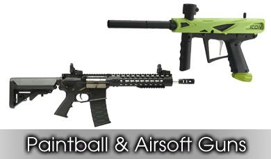 Paintball and Airsoft Guns