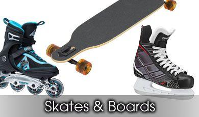 Roller Blades/Skates/Skateboards