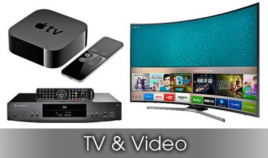 TVs Video and Audio